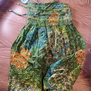 Dresses & Skirts - #NEW#Peacock smock dress brand new size M